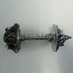 Rotor assembly for turbocharger