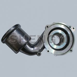Turbo charger compressor housing